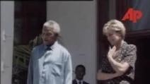 L'incontro in Sudafrica tra Nelson Mandela e la Principessa Diana
