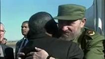 Fidel Castro e Nelson Mandela: amicizia costruita sulla reciproca ammirazione