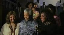 Nelson Mandela incontra Whitney Houston
