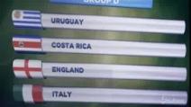 Calcio, Mondiali 2014: sorteggio duro per Italia, ci sono Inghilterra e Uruguay