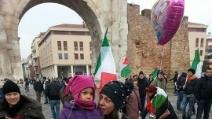 Presidio dei forconi a Rimini, il commovente discorso di una studentessa ai suoi coetanei