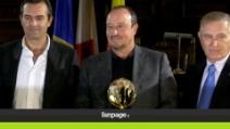 """Napoli, cittadinanza sportiva a Benitez: """"Nel 2014 mi aspetto successi"""""""