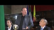 Napoli, cittadinanza sportiva onoraria per Rafa Benitez