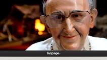 A San Gregorio Armeno quest'anno vince il presepe con Papa Francesco