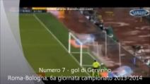 La top ten dei 10 gol più belli segnati in Serie A nel 2013