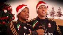 Il Milan fa gli auguri ai tifosi rossoneri