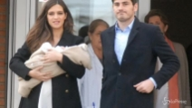 Sara Carbonero e Iker Casillas con il piccolo Martin