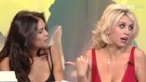 Wanda e Zaira Nara a Cielo che Gol intervistate da Simona Ventura