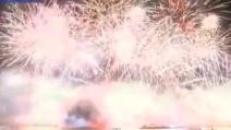 Ecco i coloratissimi fuochi d'artificio a Londra