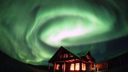 L'aurora boreale in Islanda, uno spettacolo mozzafiato