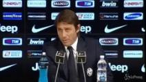 """Conte: """"Aiutini alla Juve? Tutte chiacchiere, risponderemo sul campo"""""""