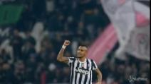 La Juve stritola la Roma. Ancora un infortunio per Rossi