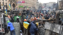 Kiev, proseguono ad oltranza le barricate dei manifestanti