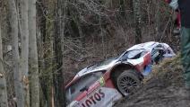 WRC, il fuoripista di Kubica al Rally di Montecarlo 2014