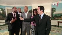 I Miami Heat alla Casa Bianca, suggerimenti di alimentazione dai campioni Nba con Michelle Obama