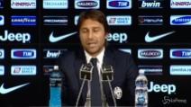 """Conte carica la Juve: """"Roma alle spalle, pensiamo a scrivere la storia"""""""