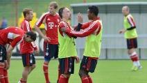 """Franck Ribéry """"punisce"""" Alaba durante l'allenamento del Bayern Monaco"""