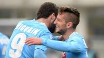 Lo stupendo gol di Mertens a Verona