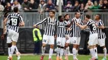 La doppietta di Llorente rilancia la Juve a Cagliari