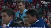 Del Piero furioso per la sostituzione