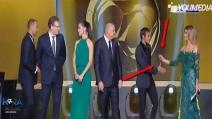 Fernanda Lima rifiuta la stretta di mano di Neymar