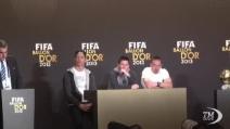 Pallone d'Oro: Ronaldo, lacrime e orgoglio