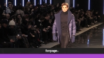 """Il noir di Ermanno Scervino sfila a Milano: """"L'abito fa il monaco, però deve rimanere monaco"""""""