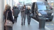 Mauro Icardi e Wanda Nara, shopping con multa a Milano
