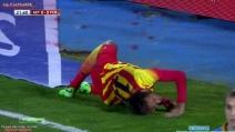 Lo spaventoso infortunio a Neymar contro il Getafe