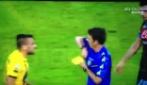 Coppa Italia, Napoli-Atalanta settembre 2013: la simulazione di Callejon sull'intervento di Cigarini