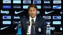 """Conte frena la Juve: """"Scudetto? Non è ancora vinto"""""""