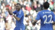 Benzema, gol numero 100 con il Real Madrid