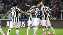 Il gol di Chiellini all'Inter