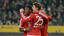 Bayern Monaco travolgente