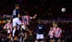 Il gol di Vidic in Sunderland-Manchester United 2-1