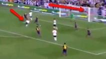Il gol straordinario di Postiga al Barcellona