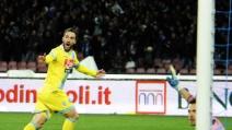 Il gol di tacco di Higuain alla Lazio