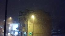 La neve arriva anche a Torino