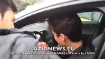 Hernanes in lacrime, saluta i tifosi della Lazio