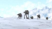 Walker at-at vs sciatore, ecco le improbabili guerre stellari sulle piste di Sochi!