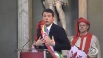 Renzi ai Fiorentini: questo è uno dei momenti più belli in 5 anni