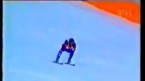 Tommy Moe vince l'oro nella discesa libera a Lillehammer