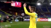 Il gol del pareggio di Mertens nella semifinale di Coppa Italia contro la Roma