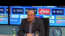 """Benitez: """"Il Napoli non è inferiore alla Roma"""""""