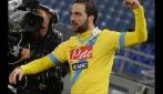 Verso Napoli-Roma: Higuain sfida Totti per la Coppa Italia