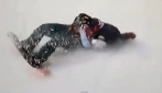 Sochi, slopestyle femminile, la spaventosa caduta di Sarka Pancochova