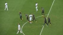 Il gol di Nagatomo al Genoa