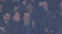 La grande esultanza di Maradona al San Paolo al gol di Higuaìn