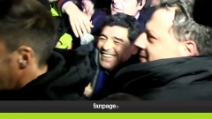 Napoli, Maradona arriva al San Paolo