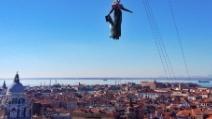 Carnevale di Venezia, ecco lo spettacolare Volo dell'Angelo